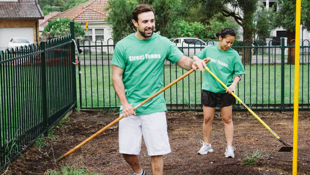Street Teams: More Than Mowing Lawns