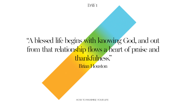 Day 1: A Blessed Life