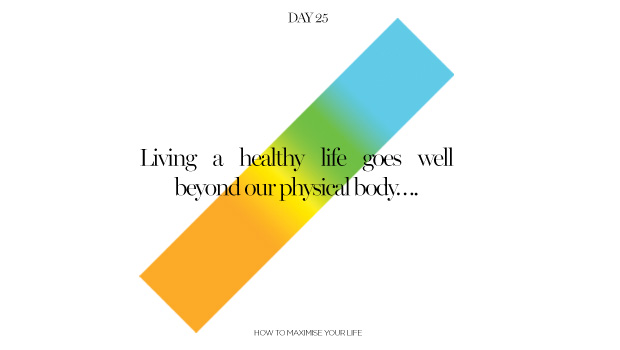 Day 25: Healthy