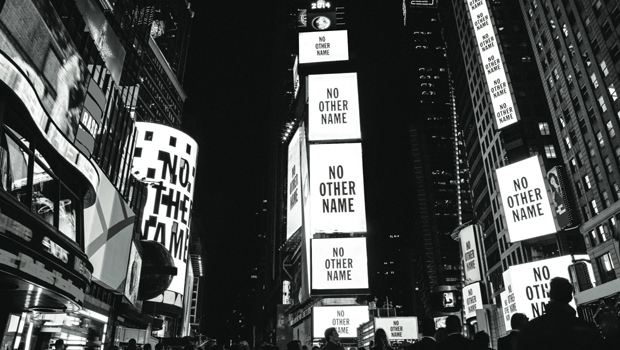 NO OTHER NAME Times Square Shoot
