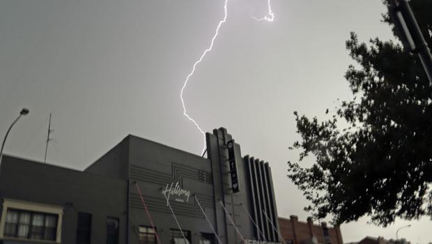 When Lightning Struck Our Church