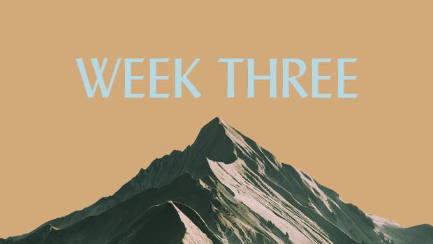 100 Days of Ascent: Week Three