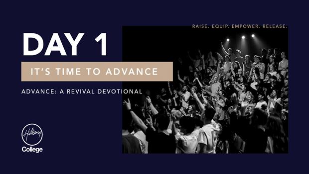 Advance: A Revival Devotional Day 1