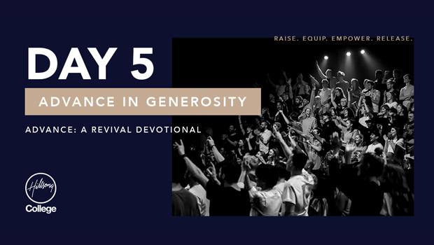 Advance: A Revival Devotional Day 5
