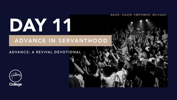 Advance: A Revival Devotional Day 11