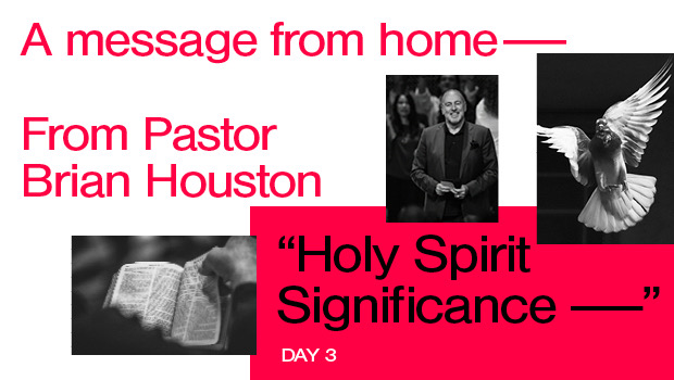Day 3: Holy Spirit Significance