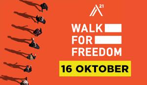 Walk for freedom 2021