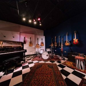 Classes for Drums, Guitars and Keys are held at: