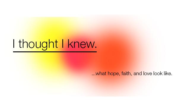 I thought I knew