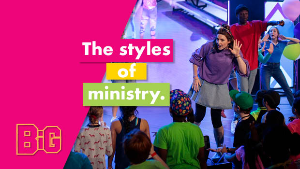 The Styles of Ministry